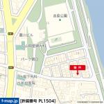 駐車2台可能(地図)