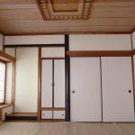 床の間・仏間・書院付きの和室(居間)